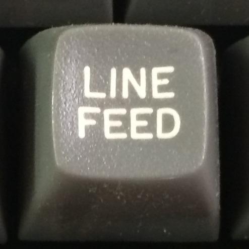 User image: Linefeed