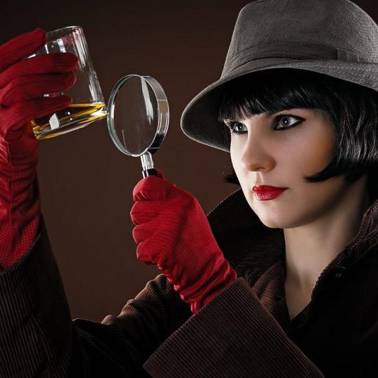 User image: festive detective
